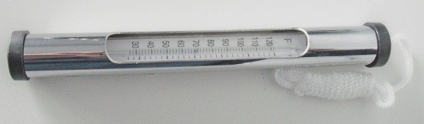 Stabthermometer silber