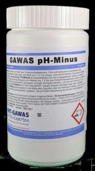 GAWAS pH-Minus Granulat