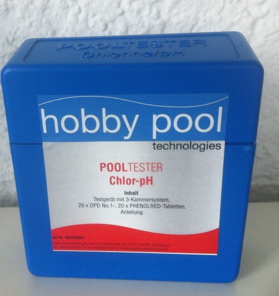 Wassertestgerät Chlor/pH hobby pool