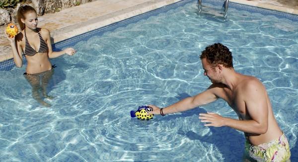 Wasserball in Fischform