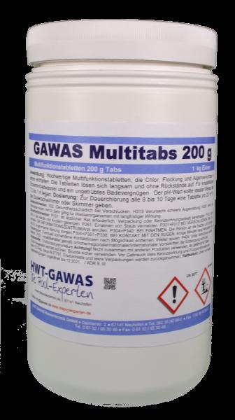 GAWAS Multitabs 200 g Tabs